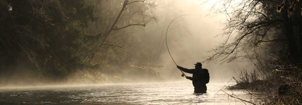 Guided fly fishing trips on the north oregon coast rivers for Guided fishing trips in oregon