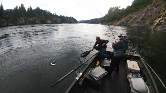 Hosted fly fishing trips the portland fly shop for Fishing store portland